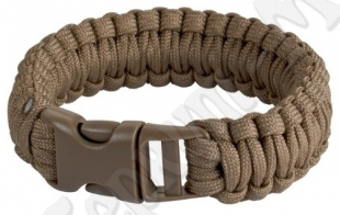 Браслет Paracord coyote