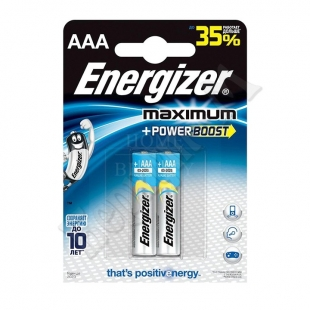 Батарейка Energizr Maximum AAА LR03 FSB3